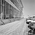 Exterieur theefabriek, vliesgevel met stalen buiscontructie (voor transport theekisten) - Rotterdam - 20002287 - RCE.jpg