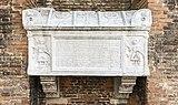 Exterior of Santi Giovanni e Paolo (Venice) - Tomb of Jacopo e Lorenzo Tiepolo.jpg