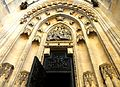 Exterior of St. Vitus Cathedral Prague 4.JPG