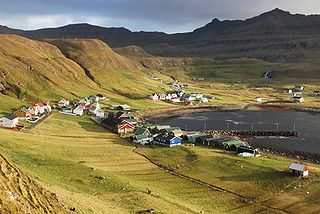 Fámjin Municipality and village in Faroe Islands, Kingdom of Denmark