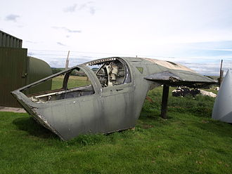 Dumfries and Galloway Aviation Museum - General Dynamics F-111E Escape Pod