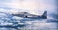 F-84G Thunderjet 51-277 probe refueling from a KB-29.jpg