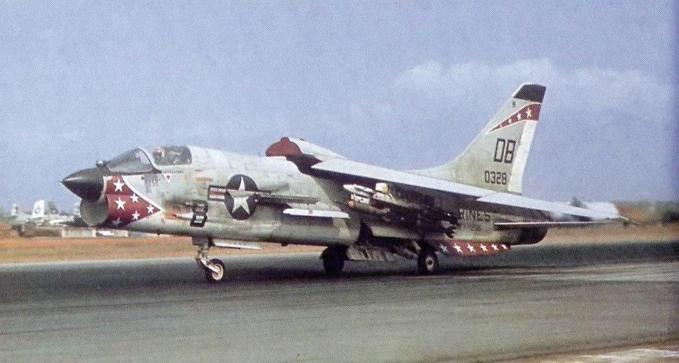 F-8E VMFAW-235 DaNang Apr1966