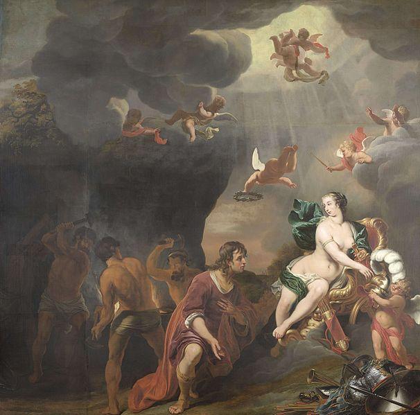 File:F. Bol Venus presenting Aeneas with armour from Vulcano's smithy.jpg