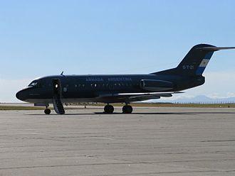 Fokker F28 Fellowship - COAN (ARA) F-28 at Comandante Espora airbase