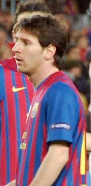 2012 FIFA Ballon d'Or - Image: FC Barcelona Bayer 04 Leverkusen, 7 mar 2012 (48) (cropped)