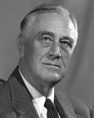 1940 United States presidential election - Image: FD Roosevelt 1938