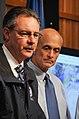 FEMA - 38270 - FEMA Administrator David Paulison with DHS Secretary Michael Che.jpg