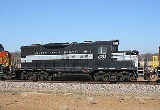 Finger Lakes Railway - Image: FGLK 1702 EMD GP9
