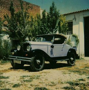 Fiat 514 Spider. Año 1927. (foto F. J. García Mariana).