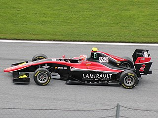 Anthoine Hubert French racing driver