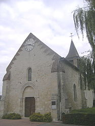 The church of Chivres-en-Laonnois