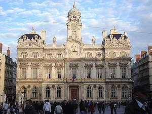 Hôtel de Ville, Lyon - Lyon City Hall