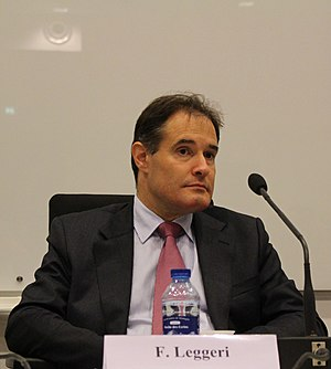 European Border and Coast Guard Agency - Fabrice Leggeri, Executive Director of Frontex, in November 2015.