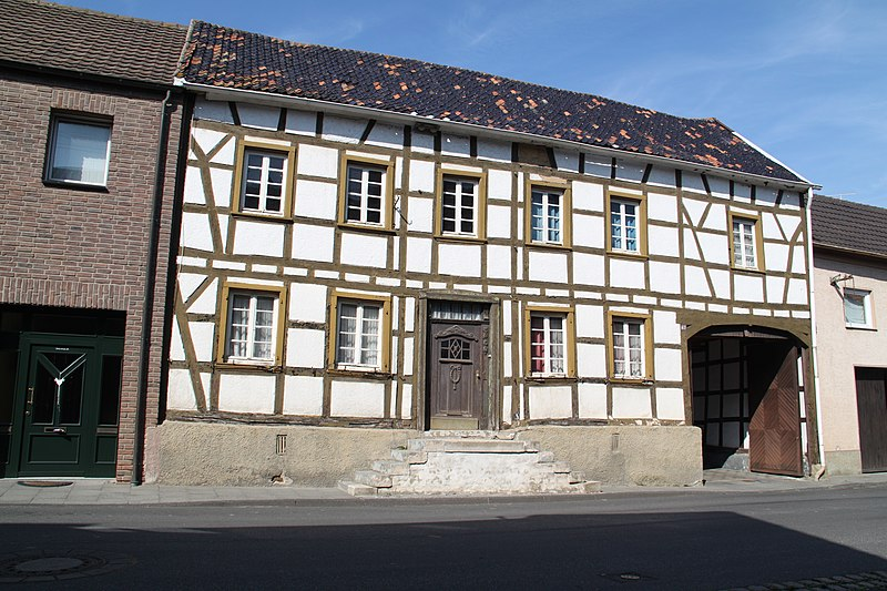 datei fachwerkhaus gelsdorf bonner strasse 63 2 jpg wikipedia. Black Bedroom Furniture Sets. Home Design Ideas