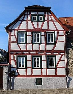 Fachwerkhaus, Pfarrer Münch Straße 5, 65439 Flörsheim, IMG 3