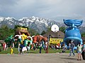 Fair in the School Ground,Sandy - panoramio.jpg
