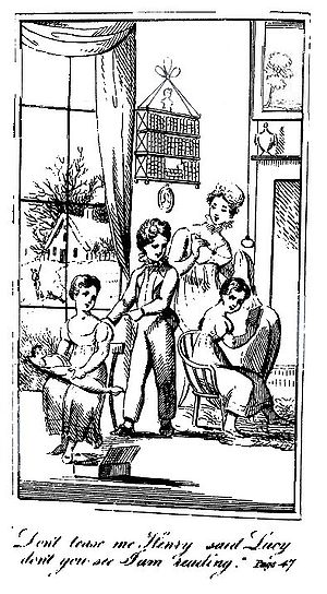 Mary Martha Sherwood - Frontispiece to the first edition of The Fairchild Family, Part I