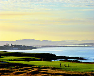 Fairmont St Andrews - The view from the Torrance course