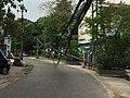 Fallen power poles after strong winds Yangon.jpg