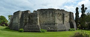 Farnham Castle - The shell keep of Farnham Castle