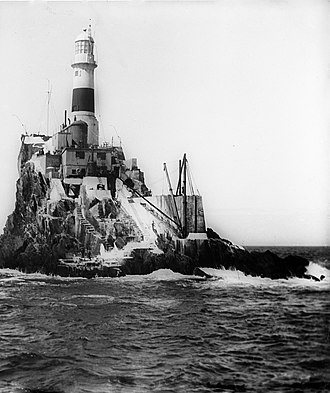 Fastnet Rock - Fastnet Rock Lighthouse, c. 1900