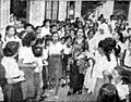 Fatmawati at nursing college Suara Merdeka 19 Oct 1954 p1.jpg