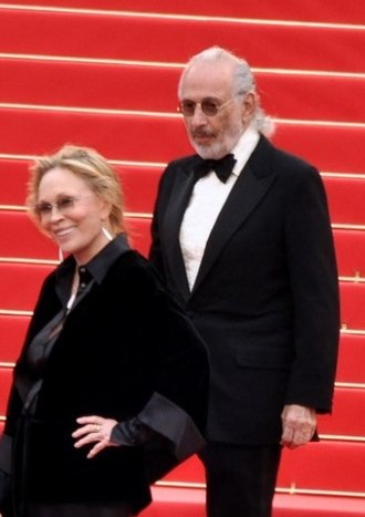 Jerry Schatzberg - Schatzberg with Faye Dunaway at the 2011 Cannes Film Festival