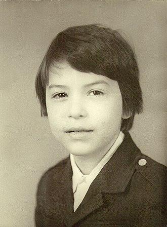 Fyodor Bondarchuk - Fedor Bondarchuk in his childhood