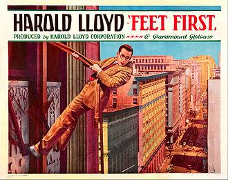 Feet First - Lobby card