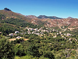 Feliceto Commune in Corsica, France