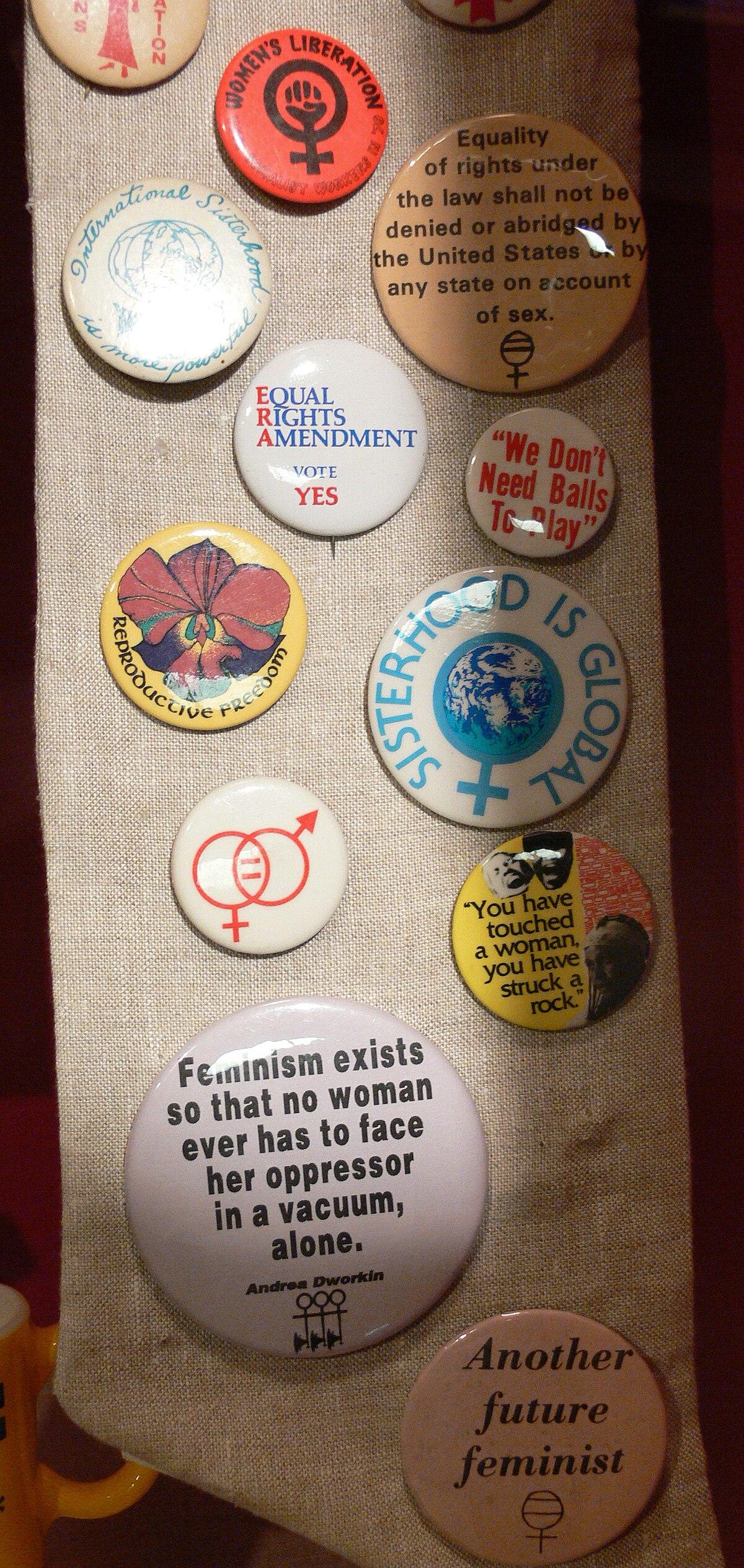 Feminist Movements And Ideologies Wikipedia