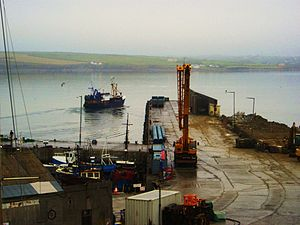Fenit - Leaving Fenit harbour