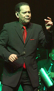 Fernando Villalona Merengue singer from Dominican Republic