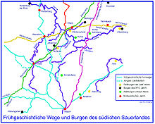 Sauerland Karte Deutschland.Sauerland Wikipedia