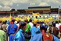 Festiwal Naadam na stadionie narodowym w Ułan Bator 22.JPG