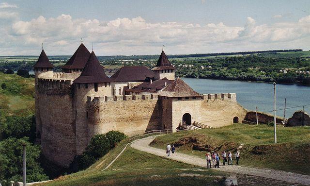 Pevnosť Chotyn - Hrady na Ukrajine