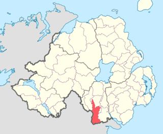Fews Upper Place in Northern Ireland, United Kingdom