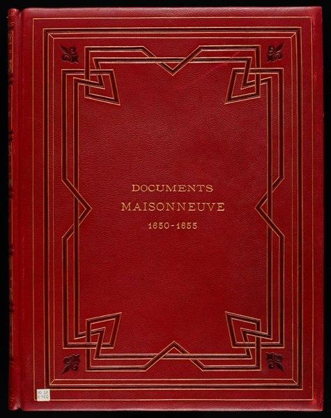 File:Fichier-Collection Paul de Chomedey de Maisonneuve.pdf