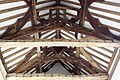 Fiddleford Manor House, Hall Roof Timbers - geograph.org.uk - 1290612.jpg