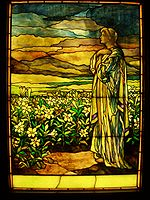 Field of Lilies - Tiffany Studios, c. 1910.JPG