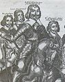 Filip Skippon, Oliver Cromwell, Robert Essex and earl Warwick 1643.jpg