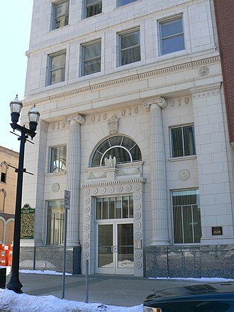 Flint, Michigan - Renovated First National Bank building in downtown Flint.