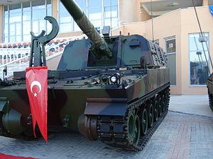 T-155 Fırtına - Image: Firtina obus kzlsngr