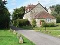 Fisherton de la Mere, cottage and postbox No. BA12 24 - geograph.org.uk - 538943.jpg