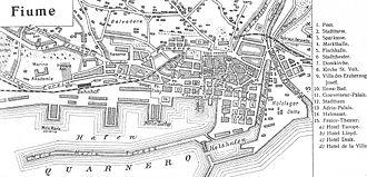 History of Rijeka - Rijeka around the year 1900