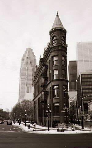 Gooderham Building - The Gooderham Building in 2006