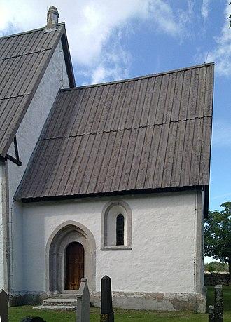 Fleringe - Image: Flerlinge kyrka Gotland kor 1