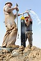 Flickr - Official U.S. Navy Imagery - Sailors cap an artesian water well in the Panjwai District of Zangabad, Afghanistan..jpg