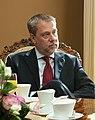 Flickr - Saeima - Solvita Āboltiņa tiekas ar Meksikas Savienoto Valstu vēstnieku (cropped).jpg